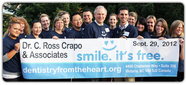 2012 volunteer team - Dentistry from the Heart